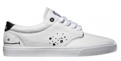 Globe Skateboard Schuhe Lighthouse White Clepto