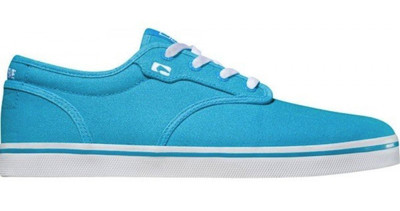 Globe Skateboard Schuhe Motley Highlighter Blue – Bild 1