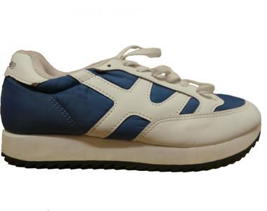 XLArge Sport Shoes White/Navy 1 B Ware – Bild 1