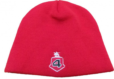 Boardingforless B4L Skateboard Beanie Red