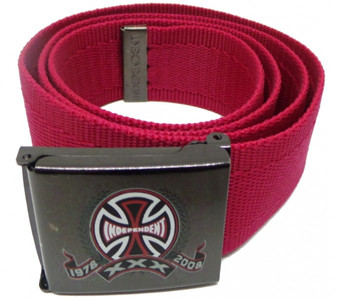 Independent Skateboard Belt Bordo Wine Red – Bild 1