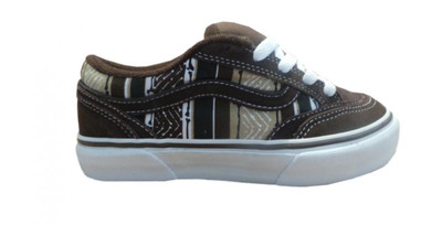 Vans Skateboard Schuhe Holder Brown/White – Bild 1
