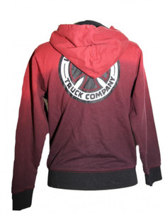 Independent Truck Company Skateboard Hooded Zip Sweater Red – Bild 2