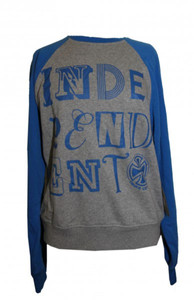 Independent Skateboard Pullover Letter Heather Sweater – Bild 1