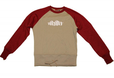 Nikita Skateaboard sweater Red/Khaki Sweater
