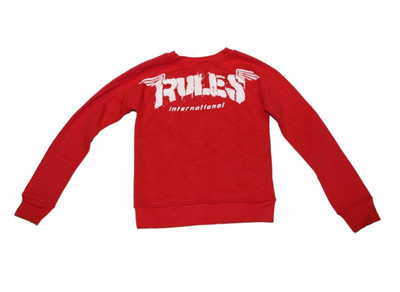 Rules  Skateboard Pullover Red Sweater – Bild 2