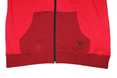 Fallen Skateboard Hoodie Zip Red Sweater - Skateboard Hooded – Bild 2