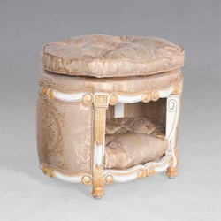 Casa Padrino Baroque luxury house dog & cat bed sleeping space - home office furniture cat pet furniture