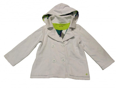 Hurley X Skateboard Girly Hooded Zip Jacke White/Ruspberry - Damen Jacket – Bild 1