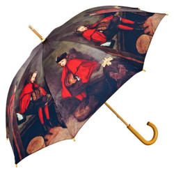 MySchirm designer umbrella with a motif of the painter John Everett Millais - Elegant Umbrella - Luxury Design