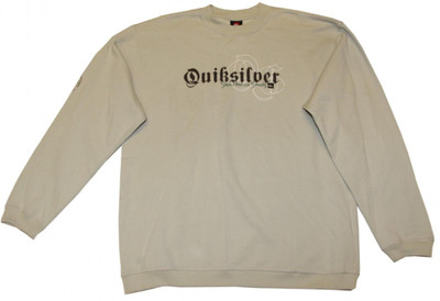 Quiksilver Skateboard Sweater Cream Hip Hop Style Sweater – Bild 1