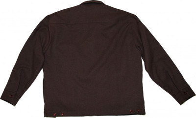 Kikwear  Skateboard Jacket Brown – Bild 5