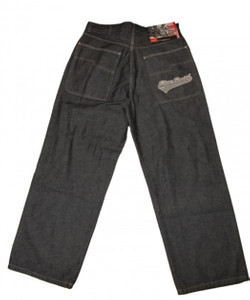 STEVESMITHNYC Skateboard Jeans Pant School Grey/Denim – Bild 3