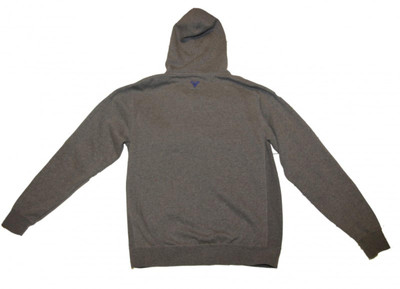 Fallen Skateboard Pullover Hoodie Zip Grey/Navy Sweater – Bild 2
