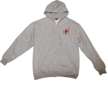 Fallen Skateboard Pullover Hoodie Zip Grey sweater – Bild 1
