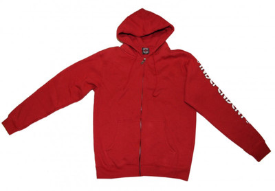 Independent Skateboard Hooded  Red Sweater – Bild 1
