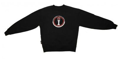 Independent Skateboard Hip Hop Style Black Sweater
