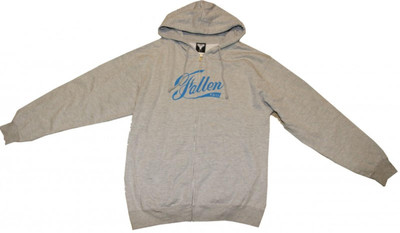 Fallen Skateboard Pullover Hoodie Zip Grey/Blue Sweater – Bild 1