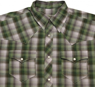 Fallen Skateboard Hemd Green/Grey Plaid – Bild 2