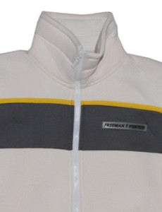 Freeman T Porter Skatewear Jacket Howdy Cream/Grey – Bild 2