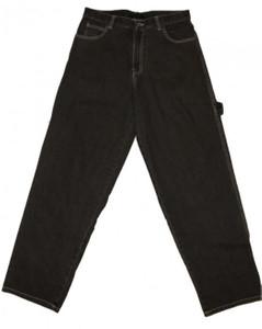 Cakt Skateboard Jeans Hose Grey Hip Hop Pant – Bild 1