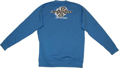 Independent Skateboard Pullover Built to Grind Blue Sweater – Bild 3