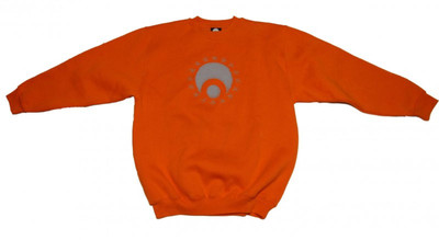 Osiris Skateboard Pullover Hip Hop Style Orange Sweater – Bild 1