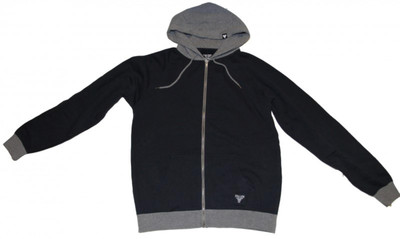 Fallen Skateboard Zip Hoodie Dark Blue/Grey Sweater – Bild 1