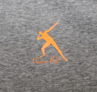 Puma Skateboard Hoodie Grey Sweater Usain Bolt Collection – Bild 3