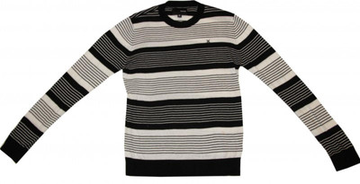 Hurley Skateboard  Black/White Stripes Sweater 1 B Goods – Bild 1