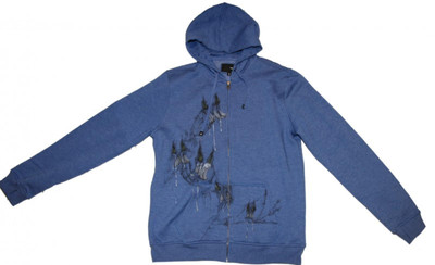 Hurley Skateboard Hoodie Zip Navy Sweater – Bild 1
