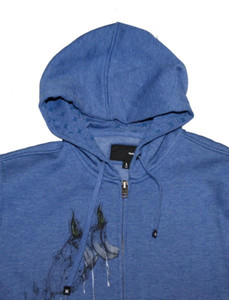 Hurley Skateboard Hoodie Zip Navy Sweater – Bild 2