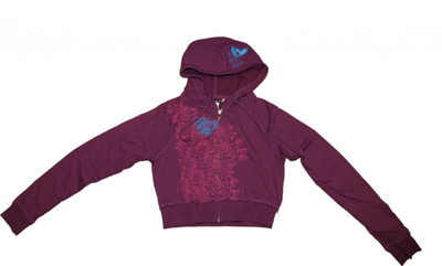 Famous Stars & Straps Skateboard  Zip Hoodie Purple Sweater – Bild 1