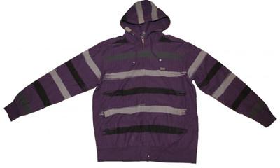 Etnies Skateboard Pullover Zip Hood Marker Eggplanet Sweater – Bild 1