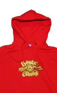 Broke Skateboard Pullover Basic Hoodie Red Sweater – Bild 2