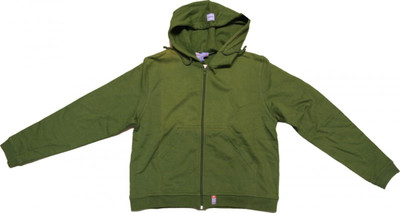 Rules Skatewear Zip Hoodie Green Sweater 1 B Ware – Bild 1