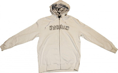 ThirtyTwo Skateboard Zip Hood Splatter White Sweater – Bild 1