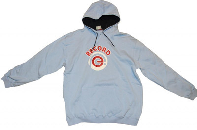 Addict Skateboard Basic Hoodie Sky Blue Sweater – Bild 1
