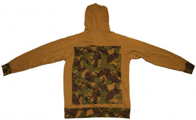 ES Skateboard Hoodie Zip Army Camo Sweater – Bild 4
