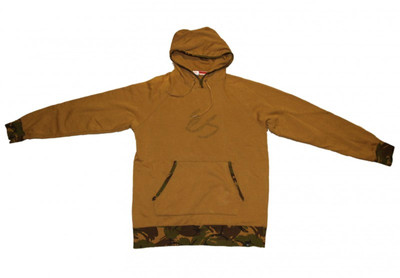 ES Skateboard Hoodie Zip Army Camo Sweater – Bild 1