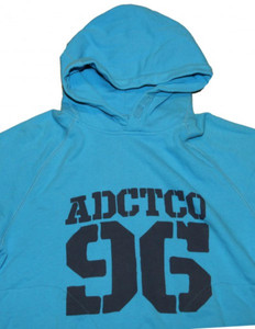 Addict Skateboard Basic Hoodie Türkis Sweater – Bild 2