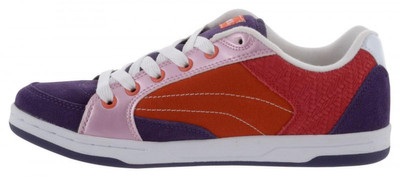 Etnies Skateboard Schuhe Czar Violett/Orange/Rosa Etnies Shoes – Bild 2
