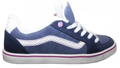 Vans Skateboard Schuhe Transistor Navy/White Vans Shoes – Bild 1