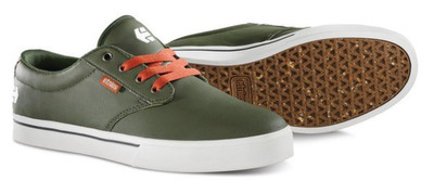 Etnies Skateboard Schuhe Jameson 2 Eco Green/orange Etnies Shoes – Bild 2
