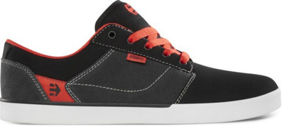 Etnies Skateboard Schuhe Jefferson Black/Dark Grey/Red  Etnies Shoes