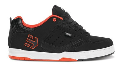 Etnies Skateboard Schuhe Cartel Black/Red/White Etnies Shoes