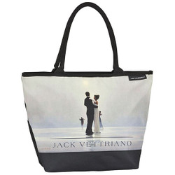 "Designer shopper bag with the motif of Scottish artist Jack Vettriano ""Dance with me"" - Elegant case - Luxury Design Bild 1"