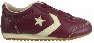 Converse shoes Leather Trainer Cran / Prchmnt Bordeaux Skateboard Sneakers Shoes