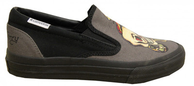 Converse Skateboard Shoes Skidgrip Ev Slp Charcoal Slip On – Bild 1