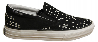 Converse Skateboard Schuhe Skidgrip Ev Dice Black/White Slip On – Bild 1